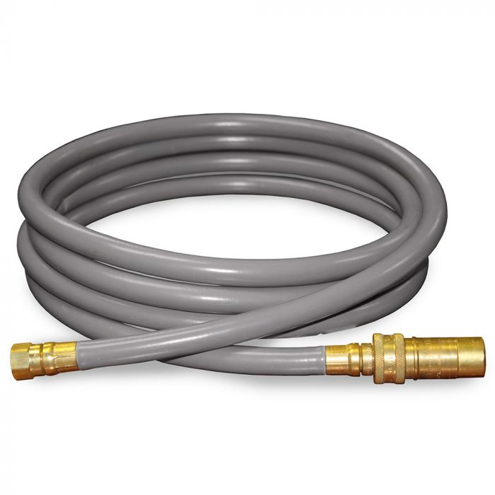 Firegear FG-12QDK Quick Disconnect Kit for Natural Gas or Propane, 12-foot
