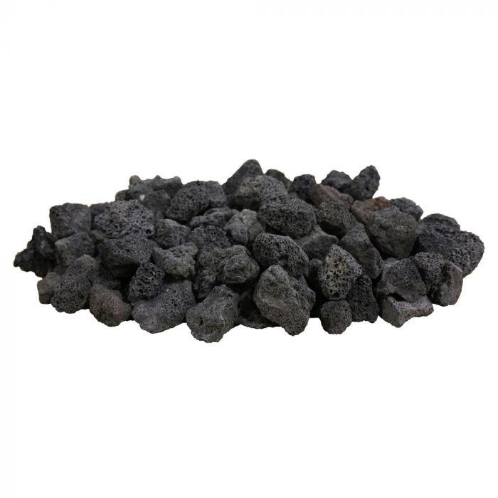 Firegear FG-LAVA-10 Black Lava Rock, 10 pounds