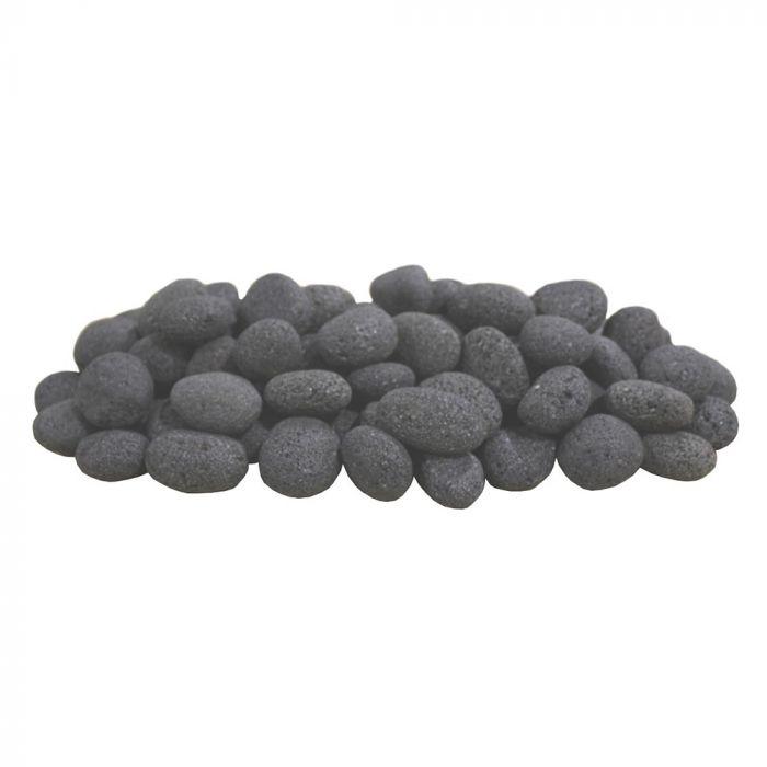 Firegear FG-LS15 Black Lava Stones, 15 pounds