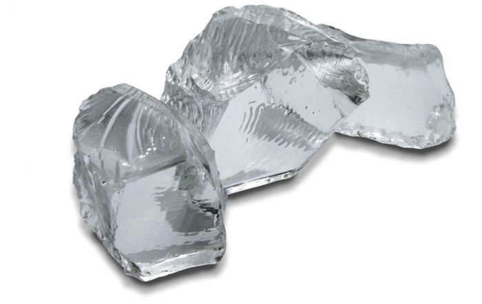 Amantii Extra Large Clear Glass Nuggets, Set of 3