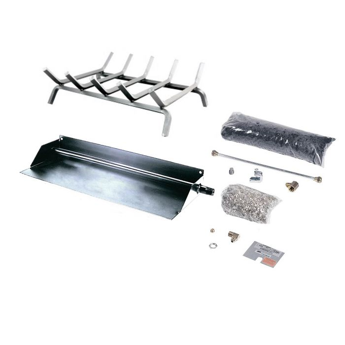 Rasmussen BFH Flaming Ember Stainless Steel Burner and Grate Kit