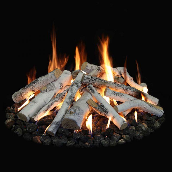 Grand Canyon FPASP-48 31-Piece Aspen Birch Fire Pit Log Set