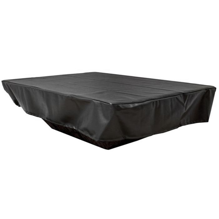 Hearth Products Controls Rectangular Black Vinyl Fire Pit Cover, 94x30 Inch