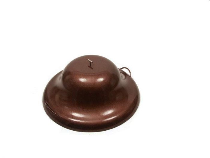 Hearth Products Controls Round Aluminum Fire Pit Cover, 33 Inch, Copper Vein
