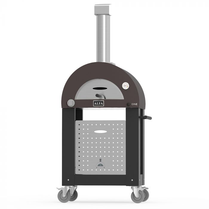 Alfa FXONE-GRAM One 23-Inch Gas Pizza Oven on Cart