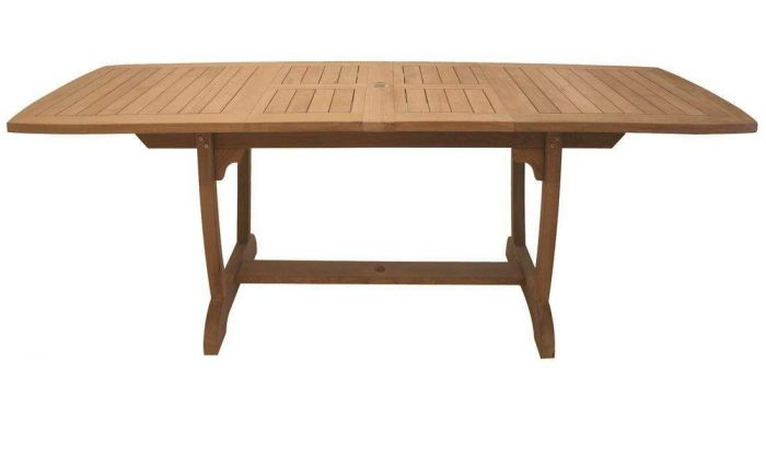 Royal Teak Collection GALA Gala Double Leaf Expansion Teak Table
