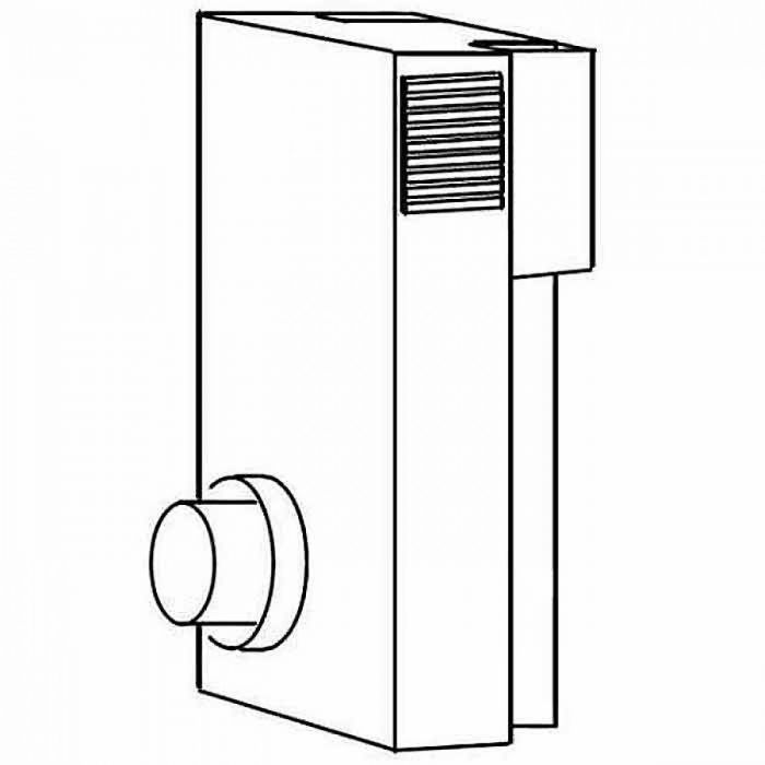 Napoleon GD-180 Periscope Vent Kit for Direct Vent Gas Stoves, 4x7-inch