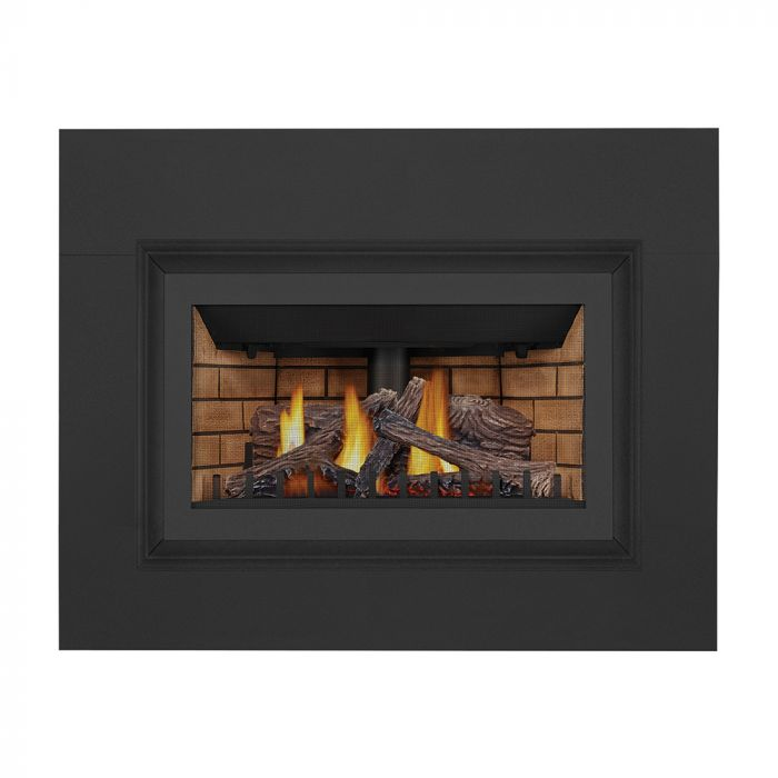 Napoleon GDIZC-NSB Inspiration ZC Series Millivolt Ignition Direct Vent Gas Fireplace Insert