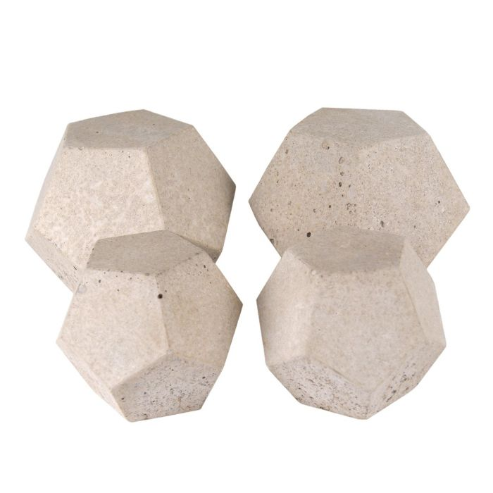 Real Fyre Geometric Fireplace and Fire Pit Stones, Geo Domes