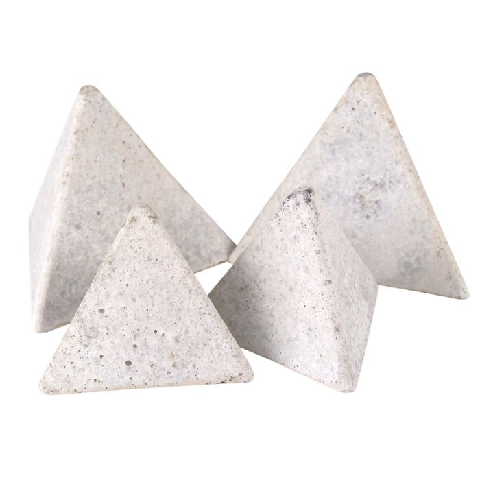 Real Fyre Geometric Fireplace and Fire Pit Stones, Geo Tetra