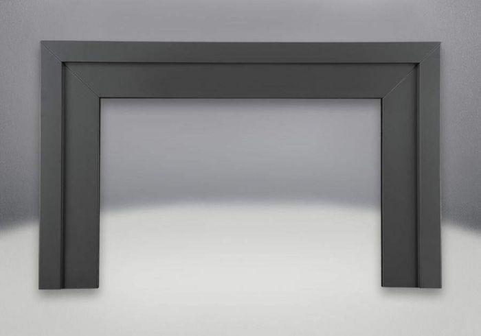 Napoleon GI-63K Black Basic Flashing Kit for GI3600 Gas Inserts, 6-Inch