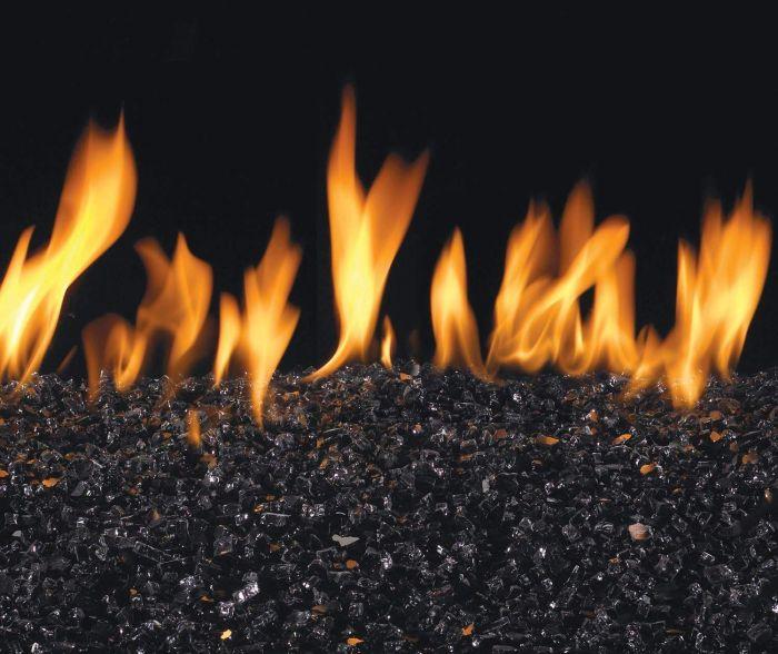 American Fyre Designs Black Fyre Glass