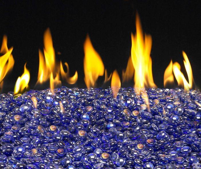 American Fyre Designs Sapphire Fyre Glass Gems