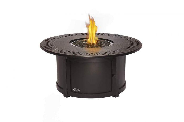 Napoleon Kensington Bronze Gas Fire Table, Round