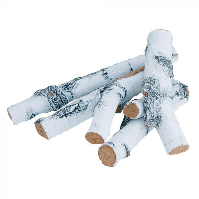 Firegear L-BR-6084 Birch Refractory 4-Piece Log Set