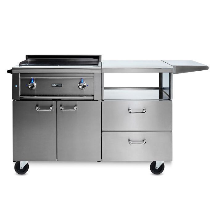 Lynx L30AG-M Asado 30-Inch Gas Grill On Mobile Kitchen Cart