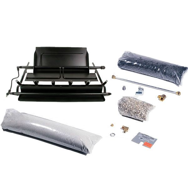 Rasmussen LD TimberFire Series Multi-Burner and Grate Kit