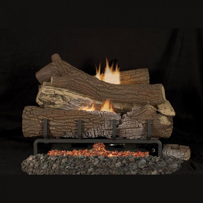 Superior LMFGT Vent-Free Concrete Giant Timbers Gas Log Set