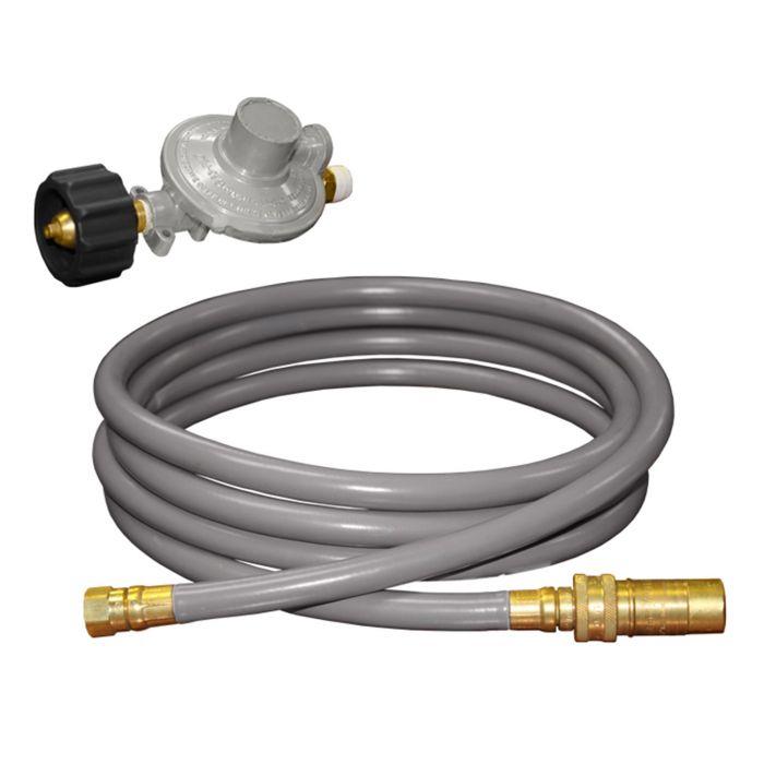 Firegear FG-LPQDK Propane Quick Disconnect Kit, 12-Foot