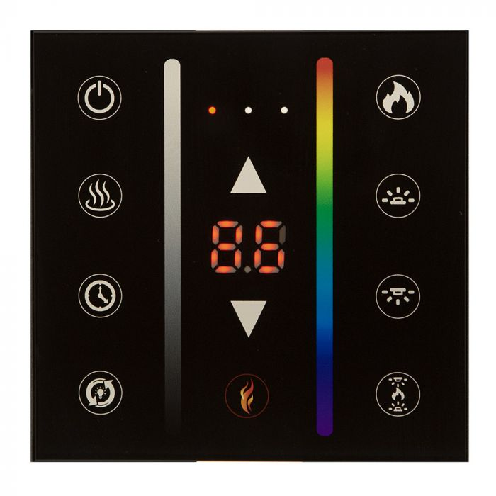 Modern Flames TH-WTC/LP Wireless Thermostat & Full Wall Control for Landscape Series MultiView & Landscape Series Pro Slim Electric Fireplaces