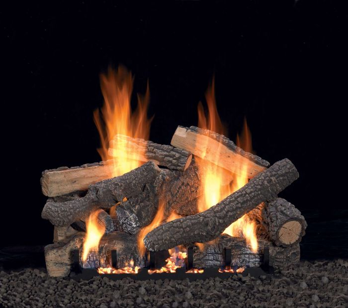 White Mountain Hearth LSxxP Refractory Ponderosa Gas Logs Only