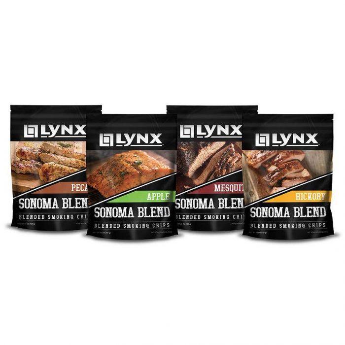 Lynx Smoker Wood Chip Blend, Four Pack