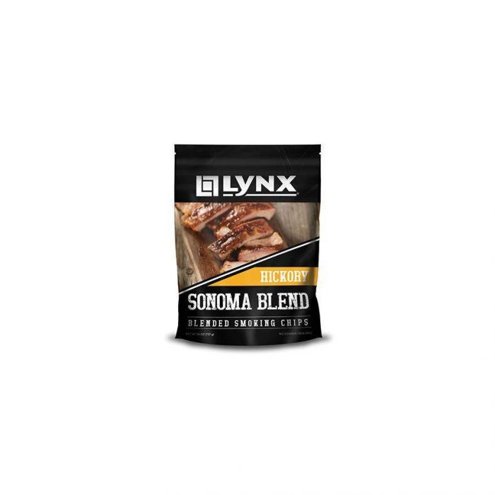 Lynx Smoker Wood Chip Blend, Hickory