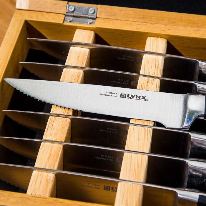 Lynx LSTK Steak Knife Set