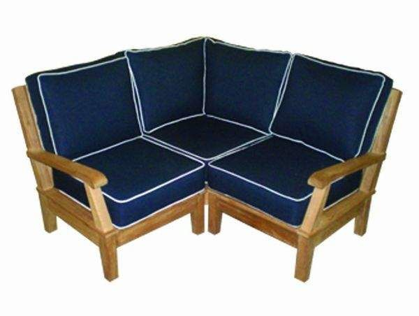 Royal Teak Collection MIABASE Miami Teak Sectional Corner