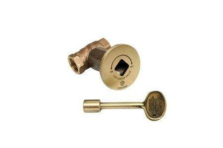 Hearth Products Controls 1/2 Inch Straight Gas Fire Pit Shut Off Valve Kits