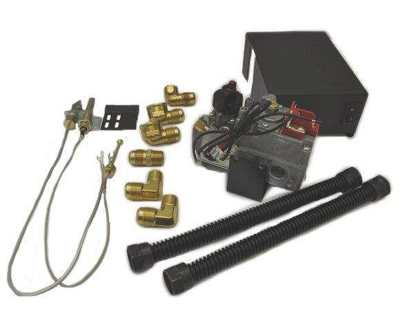 Dexen 6003 Series Millivolt Valve Kit, Propane