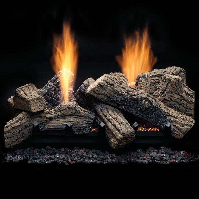Monessen NBST27 Natural Blaze See-Through 27-Inch Vent-Free Gas Log Set
