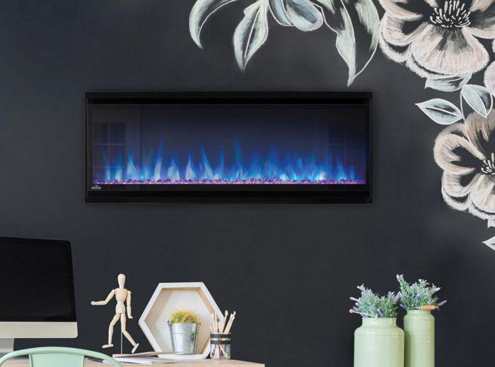 Napoleon NEFL60CHD Alluravision Deep Depth Linear Electric Fireplace, 60-inch