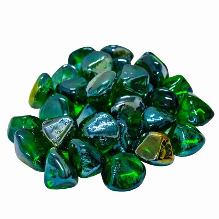 Real Fyre GLD-10-E Emerald Diamond Nuggets, 10 Pounds