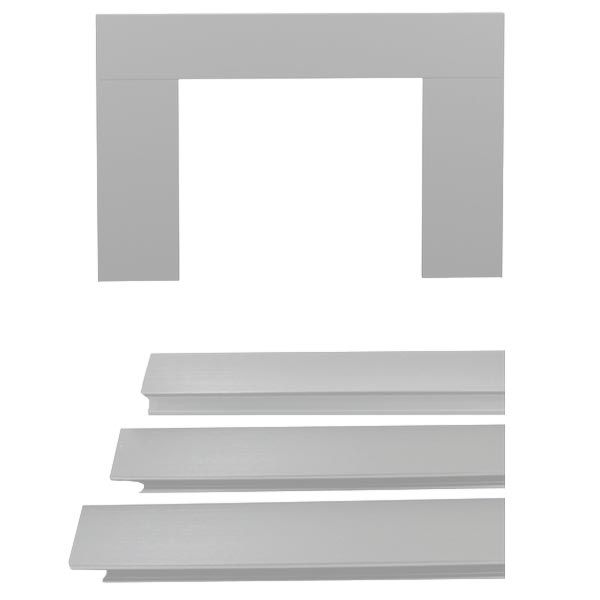 Osburn OA10123 Brushed Nickel Faceplate Trim Kit (29 X 44 Inches) for Osburn 1100, 1600, 1700, 1800, 2000, 2200 & 2400 Wood Inserts