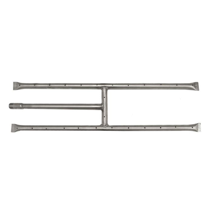 The Outdoor Plus OPT-15x Stainless Steel H-Shaped Gas Fireplace Burner