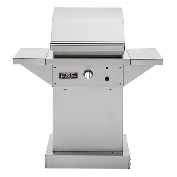 TEC Patio 1 FR Infrared Gas Grill On Pedestal