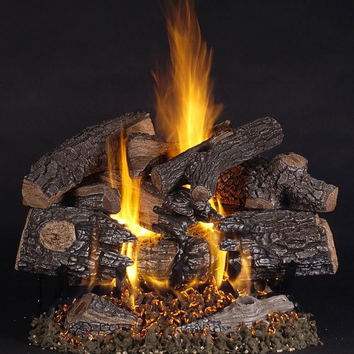 Rasmussen PH-Kit TimberFire Complete Fireplace Log Set