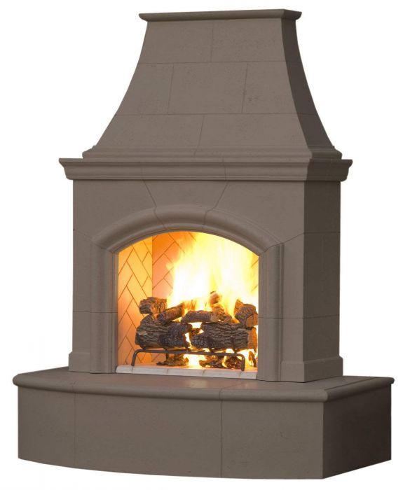 American Fyre Designs Phoenix Outdoor Gas Fireplace