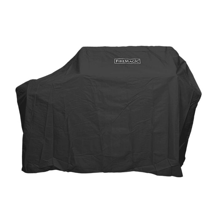 Fire Magic Freestanding with Drop Shelf Style Vinyl Grill Cover for E25
