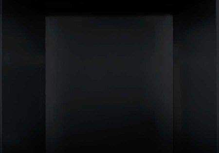 Napoleon PRPB36 Decorative Gloss Black Porcelain Reflective Radiant Panels for B36 and GX36 Fireplaces