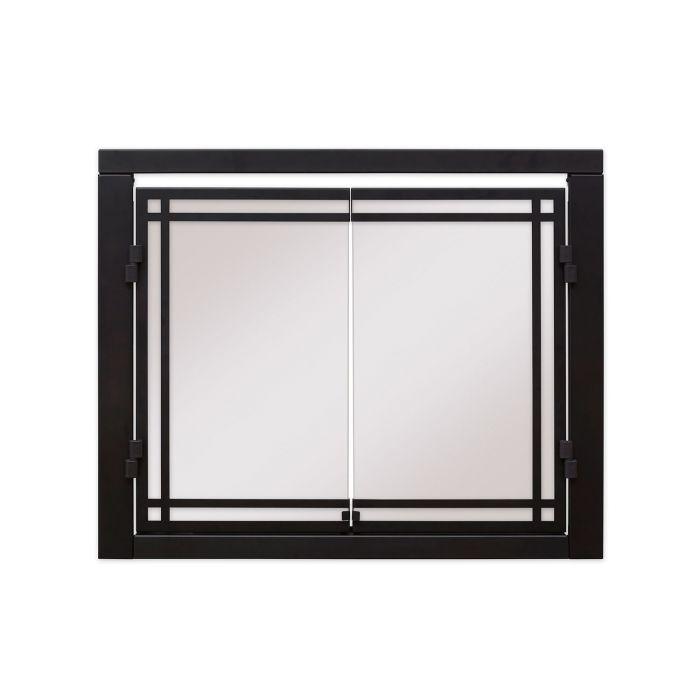 Dimplex RBFDOOR Double Glass Door for Revillusion Built-In Electric Firebox