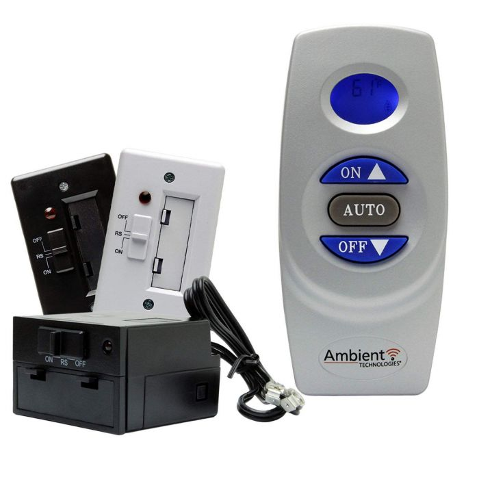 Ambient RCST On/Off Thermostat Fireplace Remote Control