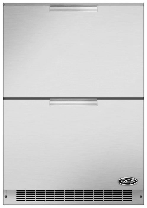 DCS Outdoor Refrigerator Drawers, 24-Inch