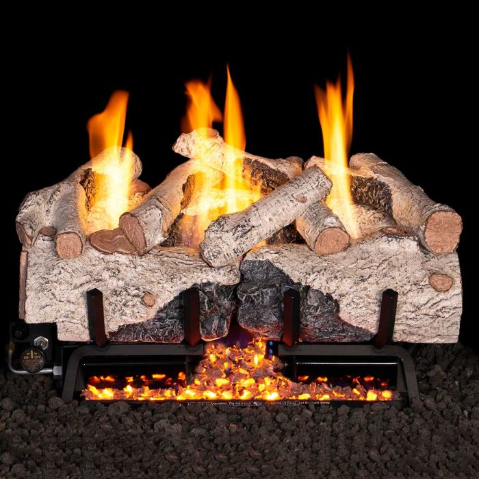 Real Fyre CHFR Charred Frontier Oak Vent Free Gas Log Set