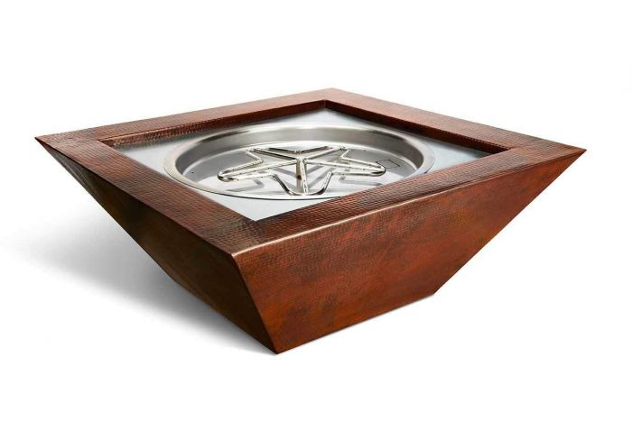 Hearth Product Controls Sedona Hammered Copper Bowl Fire Pit