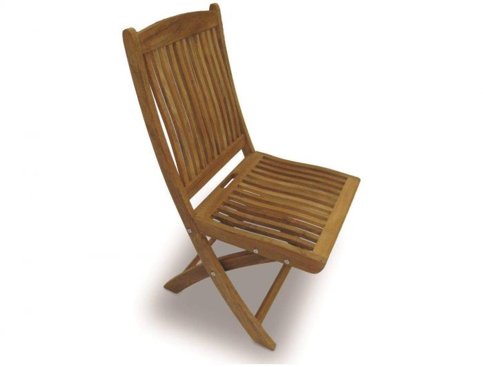 Royal Teak Collection SFCWA Sailor Teak Folding Side Chair