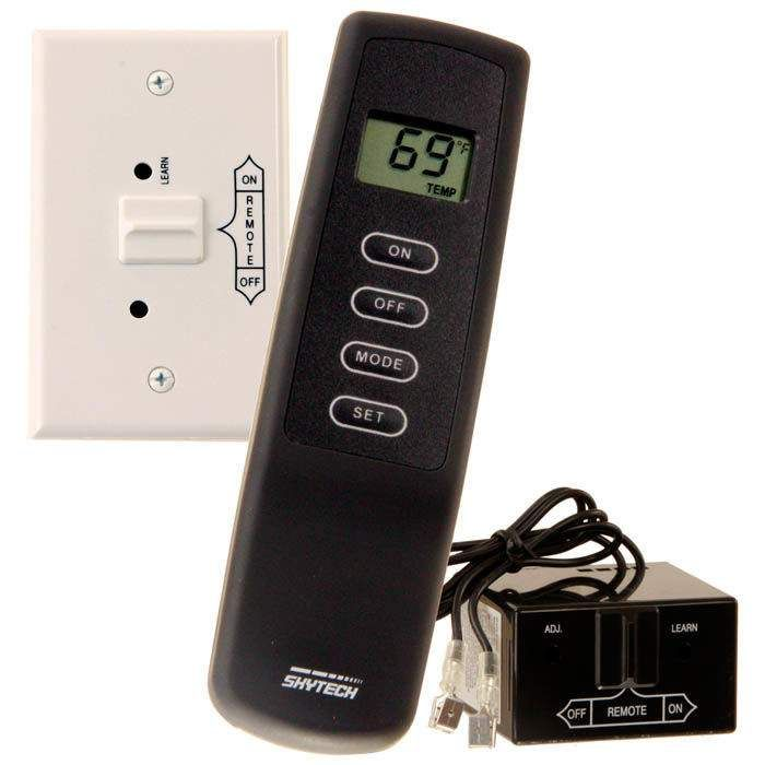 Skytech 1001TH Thermostat Fireplace Remote Control