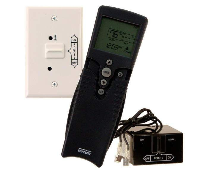 Skytech 3002 Timer/Thermostat Fireplace Remote Control