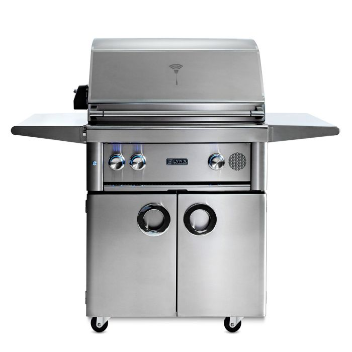 Smart Grill By Lynx 30-Inch Freestanding with Rotisserie